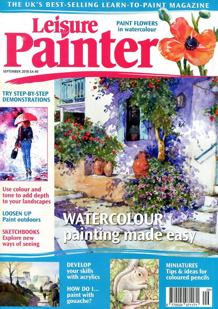 Leisure Painter 9月號/2018