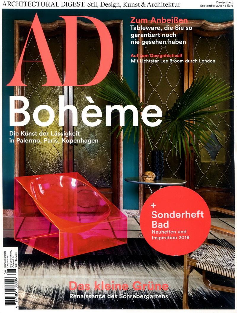 AD 德國版 第192期 9月號/2018