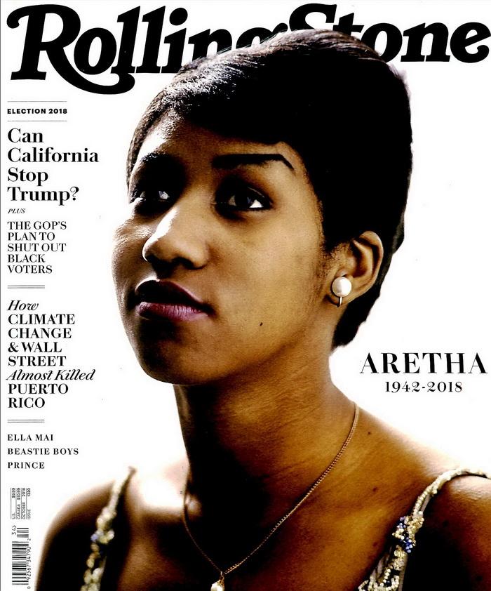 Rolling Stone 美國版 第1320期 10月號/2018