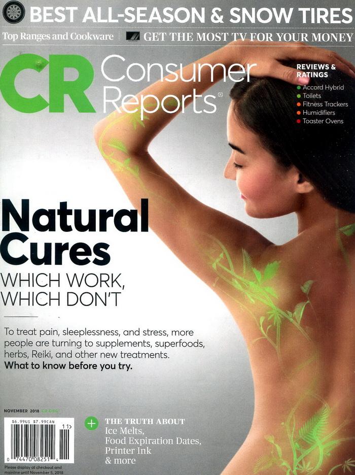Consumer Reports 11月號/2018