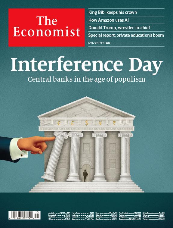 THE ECONOMIST 經濟學人雜誌 2019/04/13 第15期