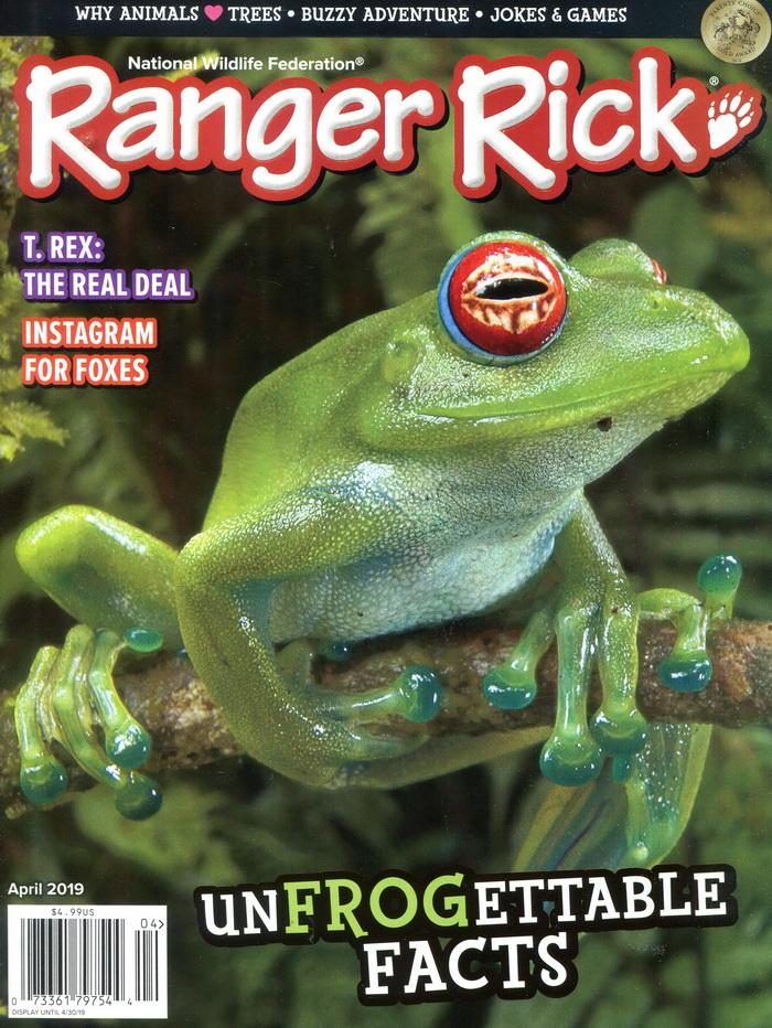 Ranger Rick 4月號/2019