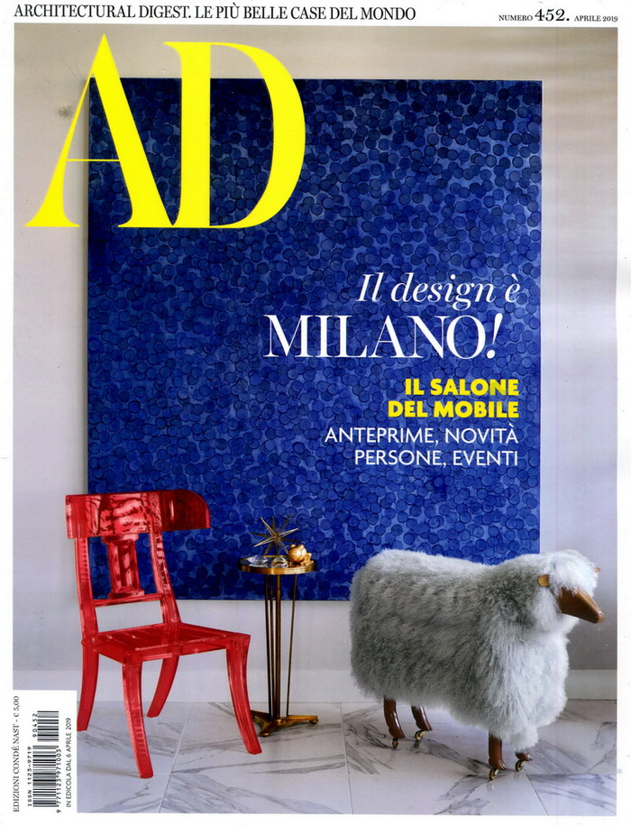 AD 義大利版 第452期 4月號/2019