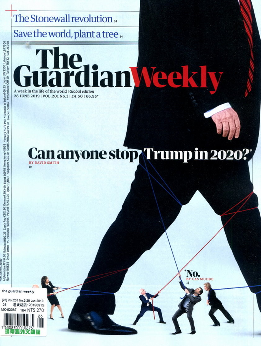 the guardian weekly Vol.201 No.3 6月28日/2019