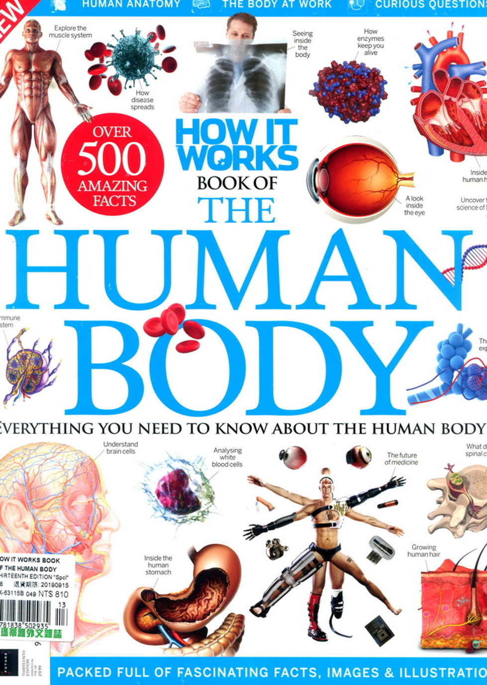 HOW IT WORKS BOOK OF THE HUMAN BODY 第13版