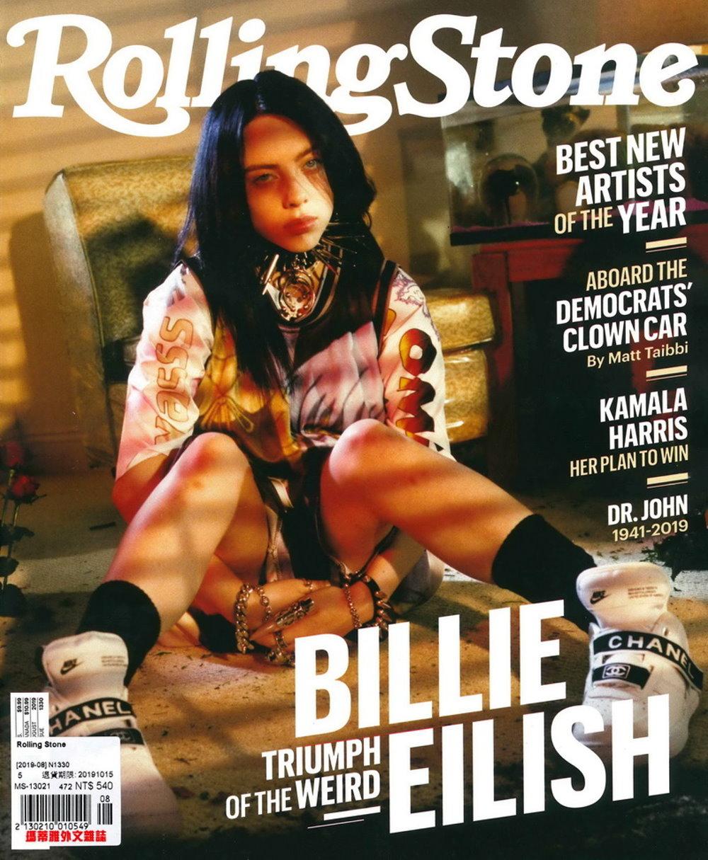 Rolling Stone 美國版 第1330期 8月號/2019