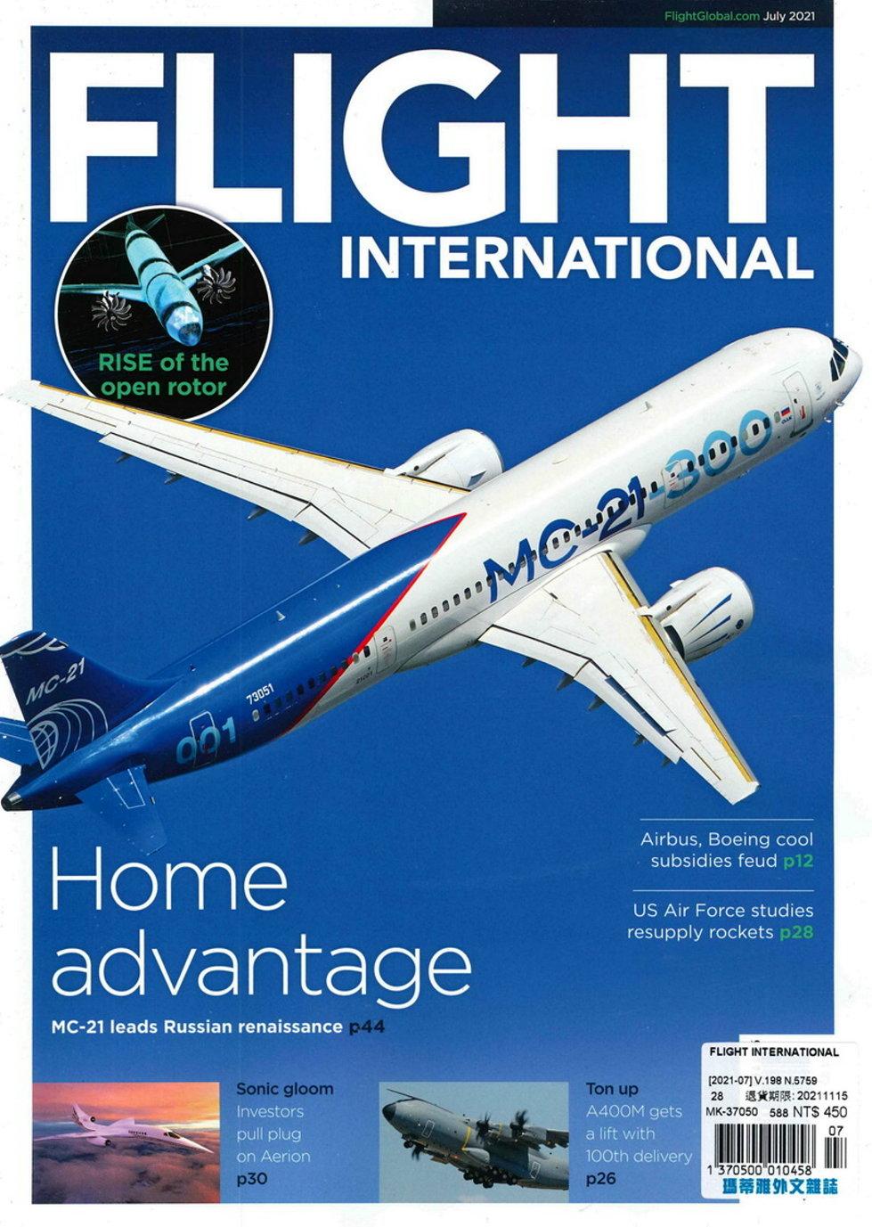 FLIGHT INTERNATIONAL 7月號/2021
