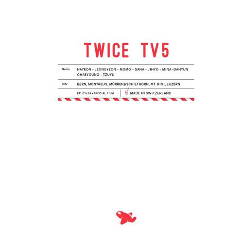 TWICE 週邊 TWICE TV5 / TWICE in SWITZERLAND DVD