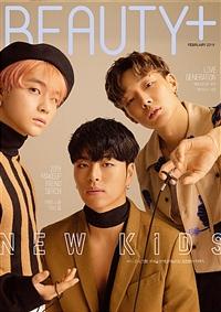 BEAUTY+ KOREA (韓文版) 2019.02 / 封面 Bobby JU-NE JAY (航空版)