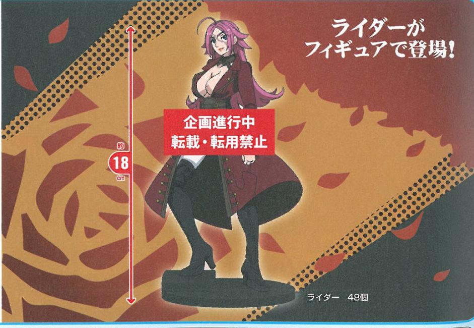 Fate/EXTRA Last Encore Rider弗朗西斯人型公仔