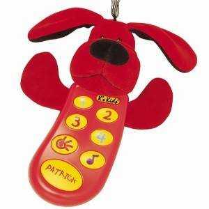 Patrick 小狗柏德烈動電話