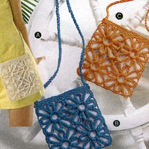 Hamanaka藍色斜背包材料包(365B)