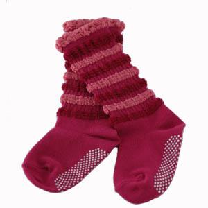 Murashin 泡泡襪L紅