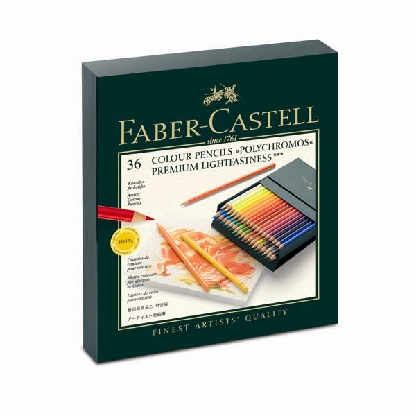 FABER-CASTELL藝術家級油性色鉛筆36色-精裝禮盒