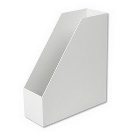 [MUJI 無印良品]PP立式檔案盒/斜口/A4/白灰