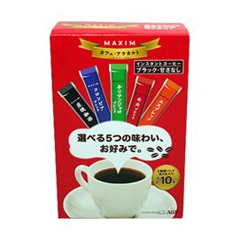 日本《AGF》 MA5種綜合咖啡-紅20g(2g*10入)