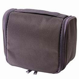 [MUJI 無印良品]尼龍吊掛盒型收納包/大.紫