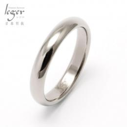 Leger日本羽鈦《單純的幸福》純鈦戒指 - 5號