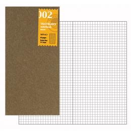 MIDORI Traveler's Notebook Refill 002 補充包~方格4