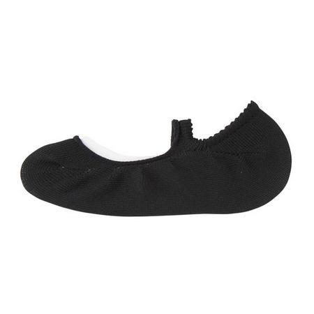 Muji 無印良品 女芭蕾舞鞋式隱形襪黑色