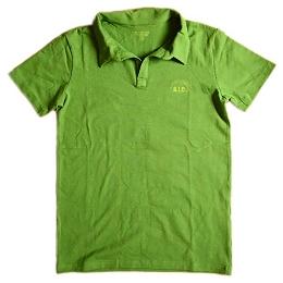 【彩虹來了】男短袖Polo衫(綠)S