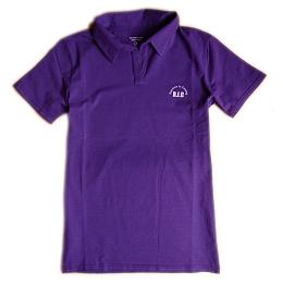 【彩虹來了】男短袖Polo衫(紫)L