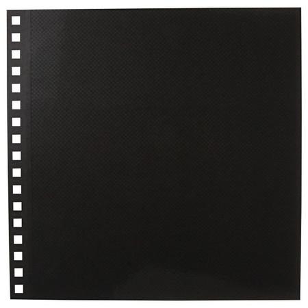 [MUJI 無印良品]PP封面自黏活頁相本補充/方型.5頁.灰