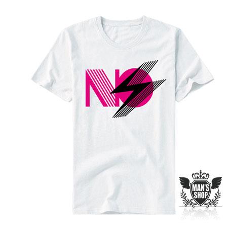 【男人幫】T0489*自創品牌【新潮系字母塗鴉短袖T恤】白色 XL