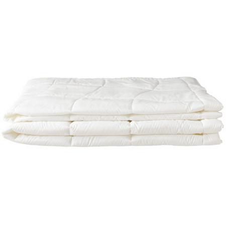 [MUJI 無印良品]抗菌聚酯棉立體縫線棉被兩件組/D