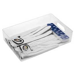【喬伊絲】2號透明飾品小物收納盒                              透明色