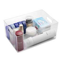 【喬伊絲】1號透明飾品小物收納盒                              透明色