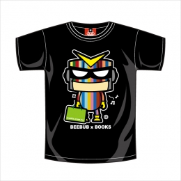 Beebub短袖T恤【博客來超人】XS號 / BEEBUBxBOOKS聯名系列