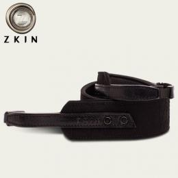 Zkin RAW 貝高(Busco) 鑽黑 防水真皮減壓背帶