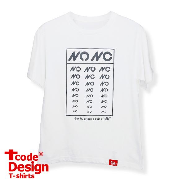 Tcode 0006【NO means NO】普版M白色-美國棉T