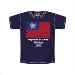 Beebub短袖T恤【國旗】-SS號