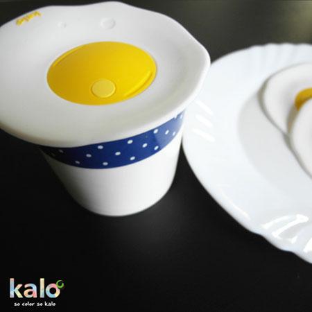 Kalo卡樂 荷包蛋矽膠杯蓋