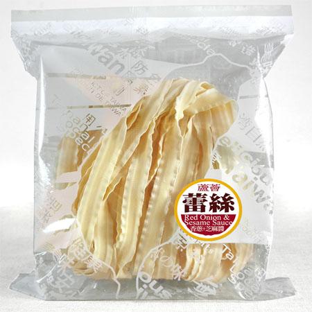 【村家味】蕾絲麵(2片入方便包)-胡蘿蔔口味(香蔥醬+芝麻醬)