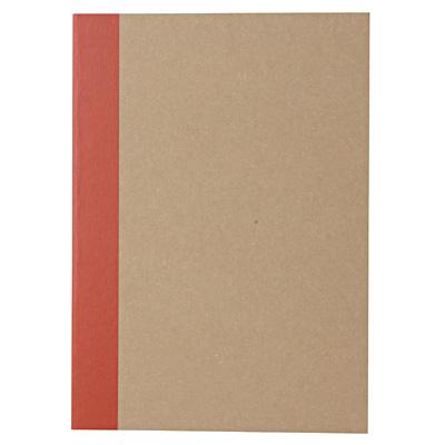[MUJI 無印良品]再生紙筆記本(空白)/A6.30頁.米