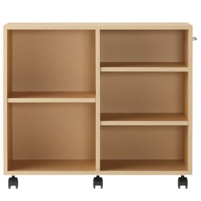 [MUJI 無印良品]DIY環保收納櫃/附輪/米色