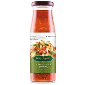 《Kanokwan咖努彎》泰式打拋羅勒醬(200g/瓶)