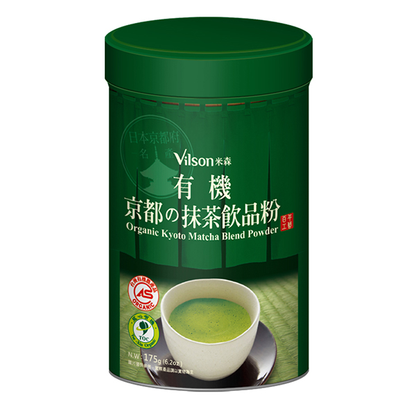 【米森】有機京都抹茶飲品粉 (175g / 罐)