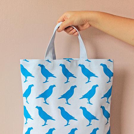 印花樂A4扁平袋/德國藍色