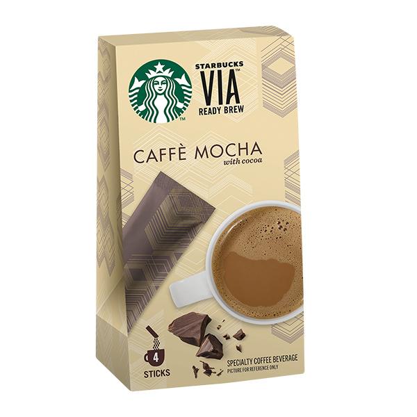 [星巴克]VIA® 風味即溶咖啡-摩卡