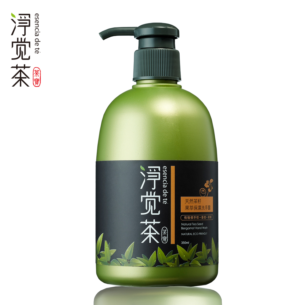 茶寶 淨覺茶 天然茶籽果萃純淨洗手露 350ml