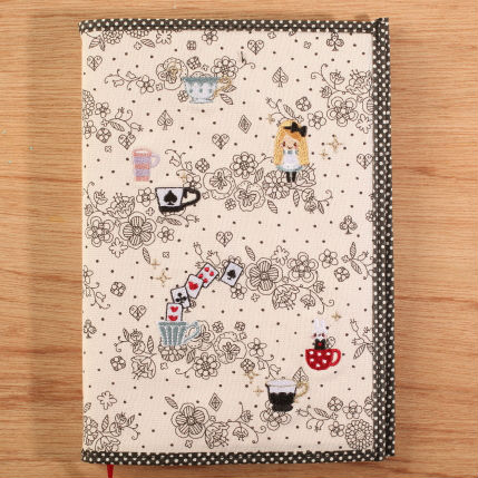 2015 B6布質繡邊手帳/愛麗絲