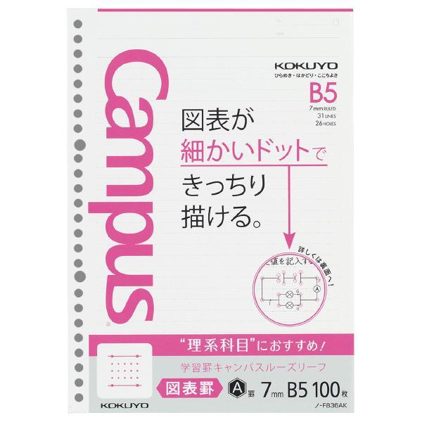 KOKUYO 學習專用Campus活頁紙-理組圖表31行