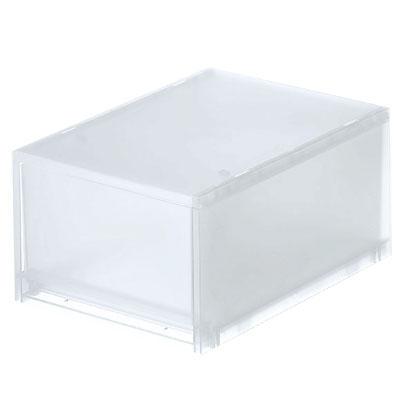 [MUJI 無印良品]PP盒/深型(正反疊)