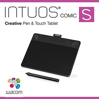 Wacom INTUOS Comic Pen & Touch (S) CTH-490 K1-CX 動漫 經典黑