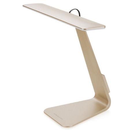 LED北歐時尚超薄觸摸充電燈金色