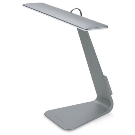 LED北歐時尚超薄觸摸充電燈灰色